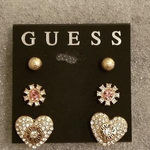 Guess Trio Earring Set